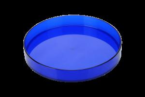 Kolorowa, okrągła taca kelnerska