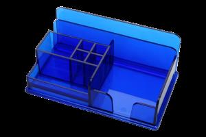 Kolorowy wielokomorowy organizer na biurko model MAX