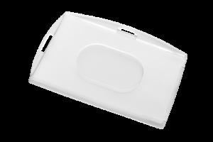 Przeźroczysty holder na kartę model KPC1