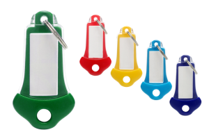Colorful key tags Modern