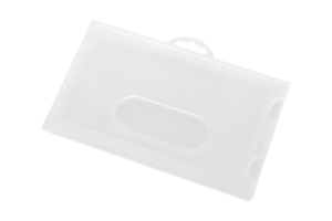 Hard plastic card holder K1