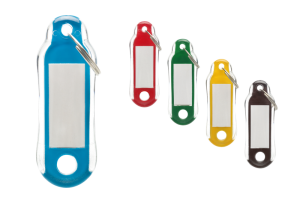 Kolorowe identyfikatory do kluczy Neo